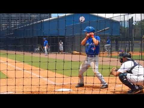 Cal Stevenson 6 26 2018 Vs Gcl Yankees West Tampa Fl
