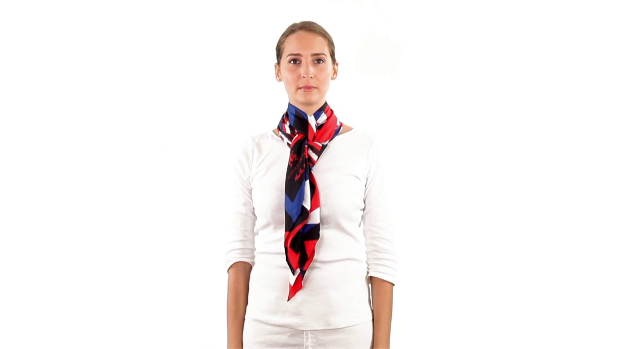 Extrêmement Comment nouer un foulard - Nouage King Cross - YouTube GM09