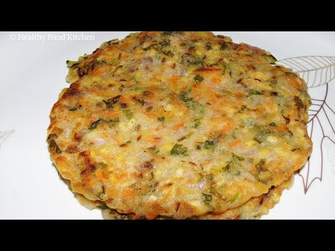 Akki Rotti Recipe - Rice Flour Rotti Recipe - Akki Roti Recipe - Bachelors Recipe