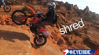 Beta 300 RR & Yamaha WR250 in Southwest Utah: #everide SHRED Weekender