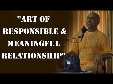 "Manthan At Wada By HG Shikshastakam pr ''Art of Responsible and Meaningful Relationship"" 25.09.16"