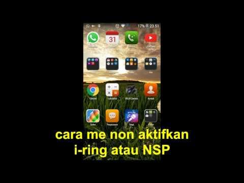 cara STOP NSP atau i-ring
