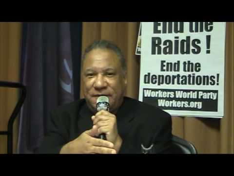 Larry Holmes, 1st Secretary Workers World Party