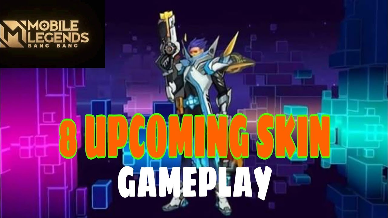 8 UPCOMING SKINS GAMEPLAY | Granger October Epic Showcase Skin |MLBB