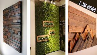 Wall Decor Design Ideas 2020 | Modern Living Room Wall Decorating Ideas