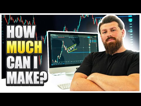 How Much Money Can I Make Trading Forex?