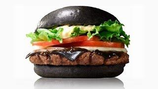 Готовим черный бургер - рецепт от ресторана Crab's burger!