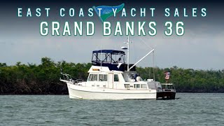 Grand Banks 36 Classic - For Sale By Bill Full With East Coast Yacht Sales
