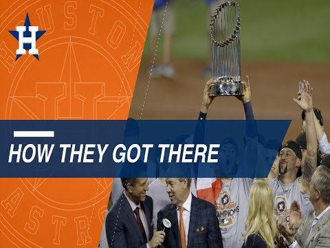 Path to the Splash: Astros win first World Series
