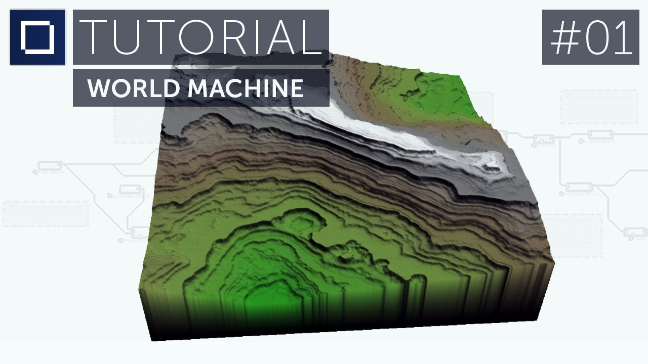 TUTORIAL: World Machine Basics -- Episode 1 -- BlockWorks