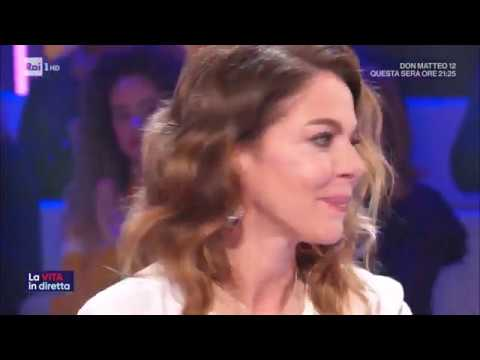 Arriva super Claudia - La vita in diretta 09/01/2020