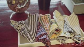 Pocket Square Pop-Up hosted by designer Natt Taylor