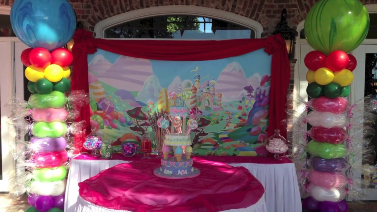 Candy Land Birthday Party Decoration Dreamark Events Www