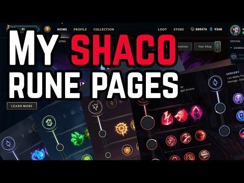 Season 8 Runes - All Shaco Runes Explained in Detail