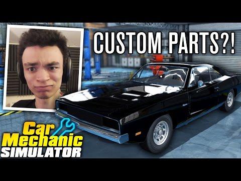CUSTOM BODY PARTS DLC?! | Car Mechanic Simulator 2015 | Episode 6