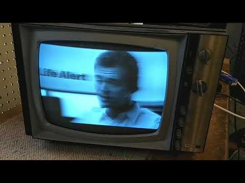 Servicing a 1960s Philco S-1262bk black and white vacuum tube tv. Part 2/2