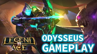 Legend of ACE Odysseus Marksman Gameplay Fast Paced MOBA Game