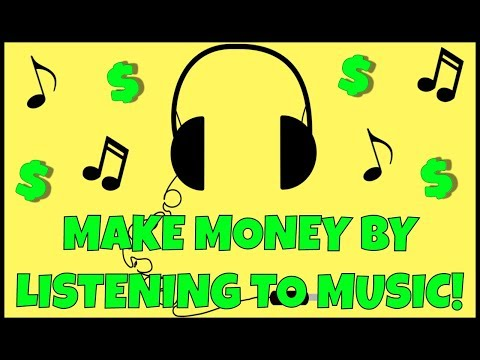 How To Make Money Listening To Music!!! ( FAST & EASY)