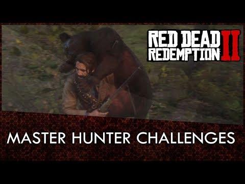 Red Dead Redemption 2 Master Hunter Challenges Guide