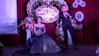 ca sĩ Lâm Chấn Huy  Lấy vợ Thu Hương  Tân Tiến    Đồng Phú  Bình Phước  Hát bài Tình Cha tặng người