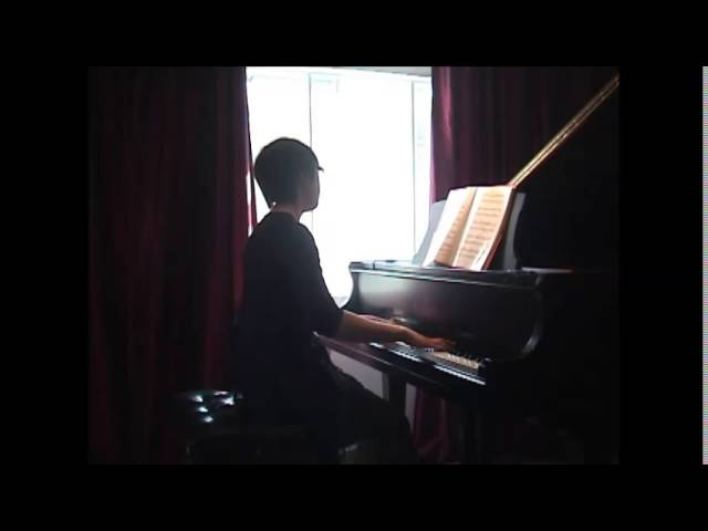Cours de piano montréal: intermediate: Yiruma: Kiss the rain