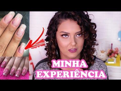 MINHA EXPERIÊNCIA COM UNHAS DE FIBRA DE VIDRO e GEL