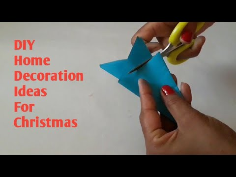 diy-||-snowflake-ideas-for-christmas-||-paper-wall-hanging-craft-||-home-decor-ideas-||-paper-craft