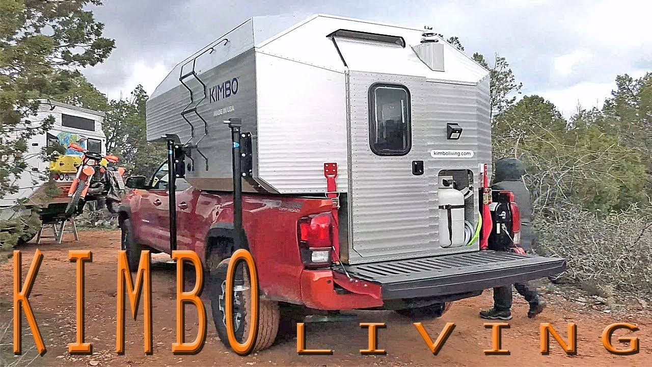 THE LIGHTEST & MOST SPACIOUS TRUCK CAMPER
