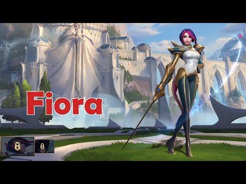 Wild Rift Closed Beta: Fiora (Fighter) Gameplay
