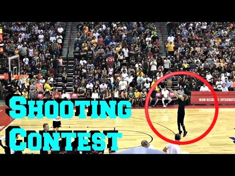 Thumbnail: LaMelo Ball Halftime Shooting Contest During Lonzo Ball First Summer league Game With The Lakers