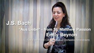 Видео урок Эмили Бейнон, первой флейты оркестра Концертгибау , Амстердам
