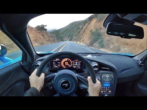 2021 McLaren 765LT POV Canyon Drive (3D Audio)(ASMR)