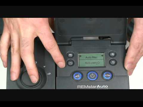 how to change the pressure of a respironics m series pap machine rh youtube com