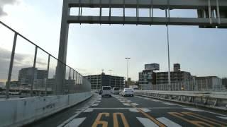 首都高速神奈川1号横羽線 K1 下り 羽田 - 石川町 [車載 2013/02] DMC-GH3 test-5