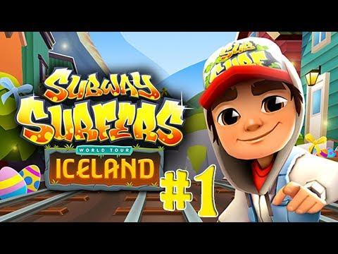 Subway Surfers Обновление Исландия Бегалка Игра как мультик Сабвэй Серферс
