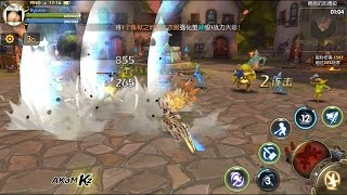 dragonnest awake android ios cbt gameplay