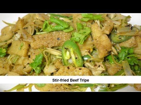 Stir-fried Beef Tripe