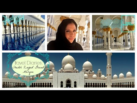 TRAVEL VLOG || Sheikh Zayed Grand Mosque, Abu Dhabi, UAE
