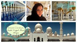 TRAVEL VLOG || Sheikh Zayed Grand Mosque, Abu Dhabi, UAE