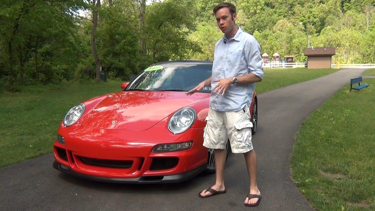 Review 2007 Porsche 911 Carrera Targa 4s Youtube