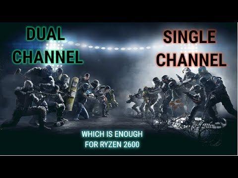 RAM Single Channel