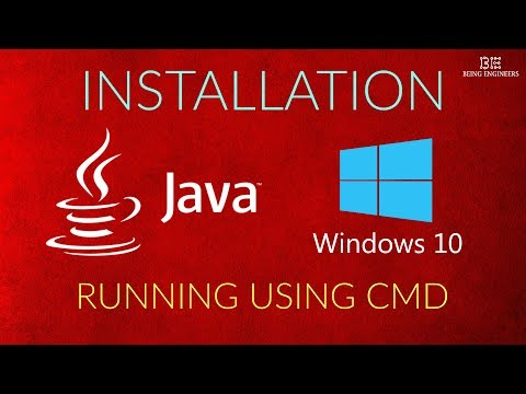 How to install and run JAVA in Windows 10 using CMD | Easy Tutorial