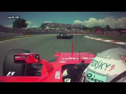 2017 Spanish Grand Prix: The Best Onboard Action