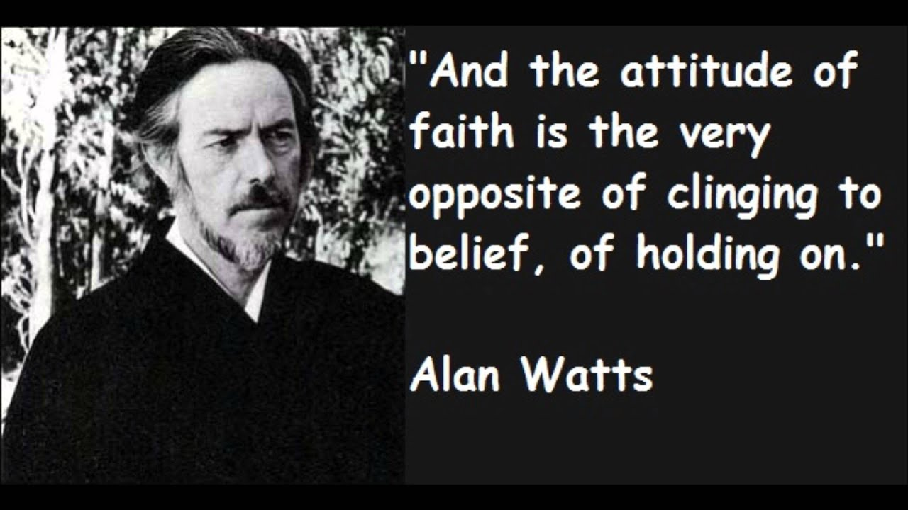 Alan Watts ~ Are You Tired Of Playing The Social Game ...