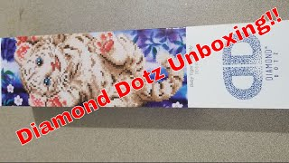 Diamond Dotz Diamond Painting Unboxing