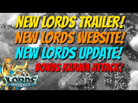 NEW Lords Mobile Trailer/Website/Update - Lords Mobile