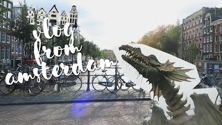 FIRST DAYS IN THE NETHERLANDS: Visiting the Efteling and walking around Amsterdam