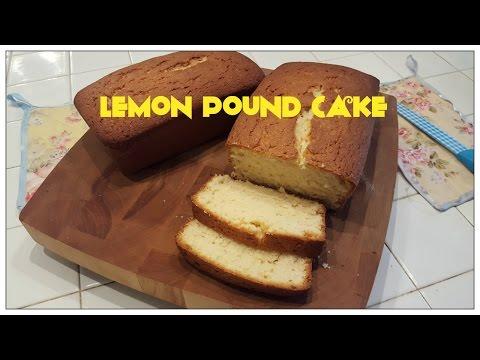 Tricia's Creations Lemon Pound Cake
