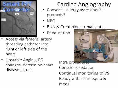 Cardiovascular Diagnostics & Procedures