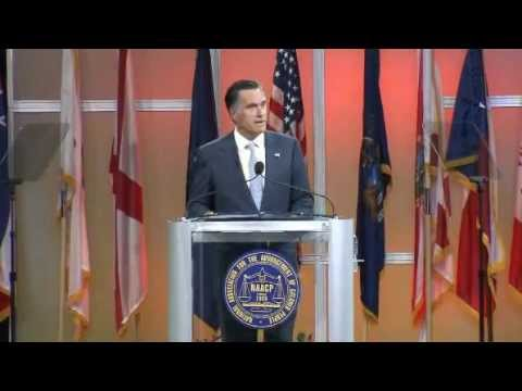 Mitt Romney Speaks To NAACP (FULL VIDEO)
